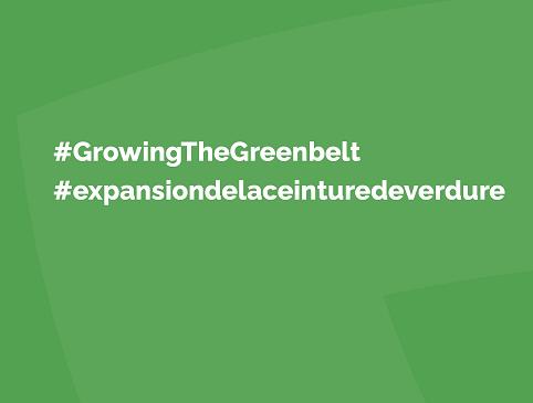 #GrowTheGreenbelt